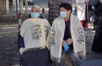 В оккупированном Крыму задержали десятки людей, которые пришли поддержать политзаключенных