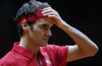 Федерер знову відзначився: виграв 20 очок поспіль