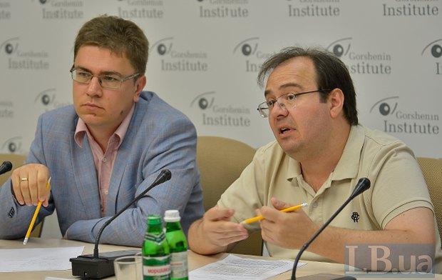 Олег Базар та Лукаш Адамський