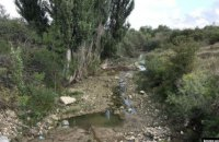 Оккупанты в Крыму перекрыли реку, чтобы качать воду в Симферополь
