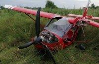 У Коломиї літак здійснив аварійну посадку у полі