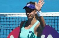 Цуренко вышла в полуфинал турнира WTA