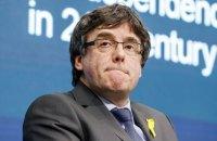 Екс-лідер Каталонії Пучдемон заявив про висунення в Європарламент