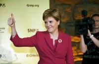 Перший міністр Шотландії розпочала підготовку до нового референдуму про незалежність