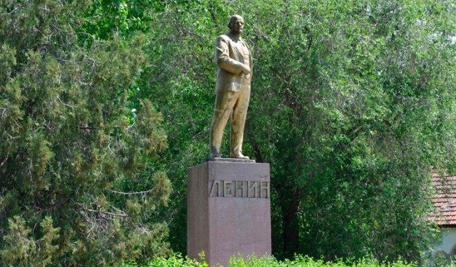 Пам'ятник Леніну в с.Залізничне