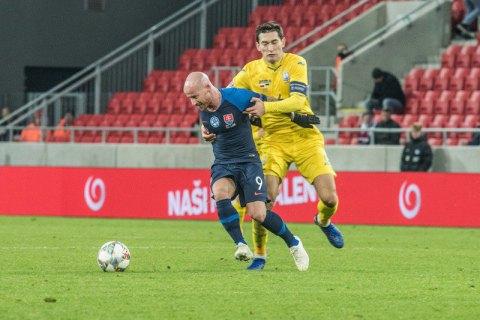Сборная Украины разгромно проиграла в заключительном матче Лиги Наций (обновлено)