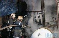 В Киеве сгорела маршрутка