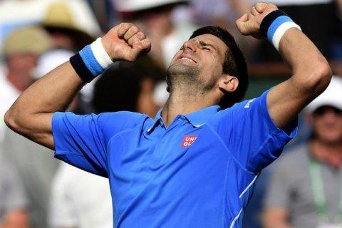 Джокович першим із тенісистів заробив понад $20 млн за сезон