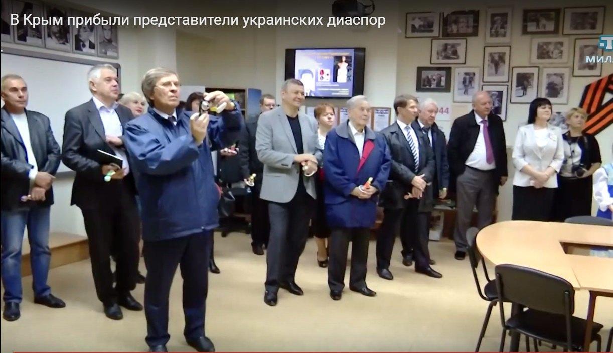 Посещение украинской гимназии