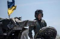 Одного військового поранено з початку доби на Донбасі