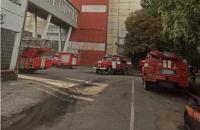 На Бурштинській ТЕС загасили масштабну пожежу