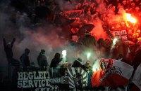 "Фанов ""Боруссии"" наказали за неонациские флаги"