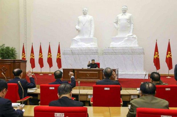 Заседание Верховного народного собрания КНДР