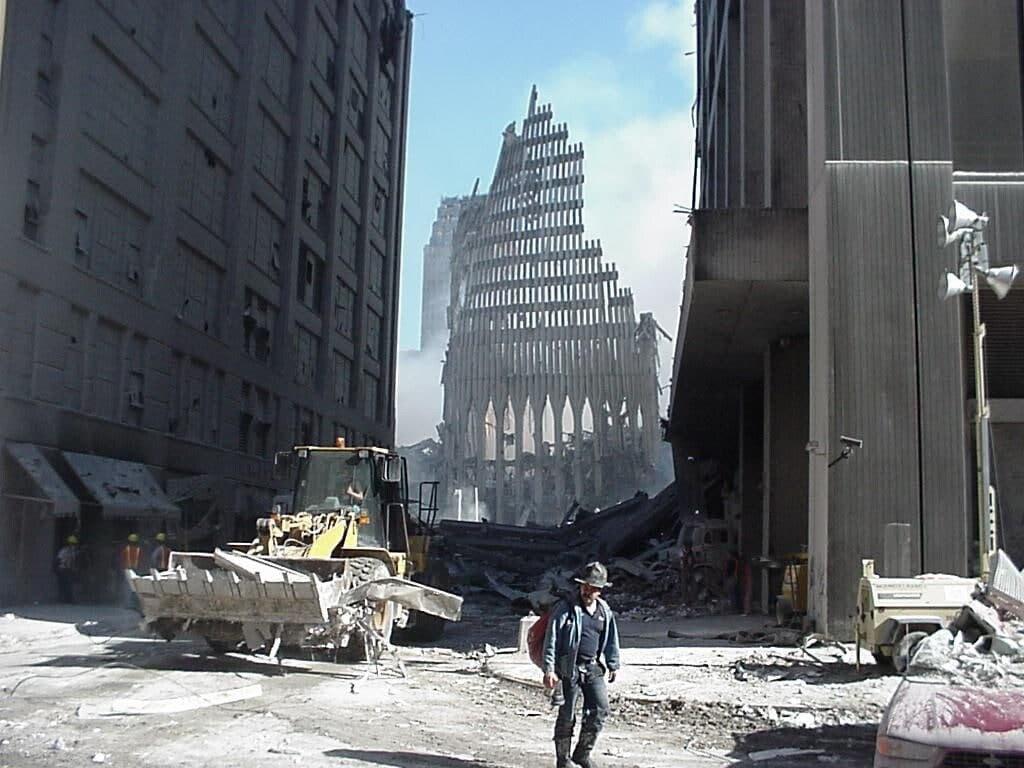 На місці теракту 11 вересня 2001 року в Нью-Йорку.