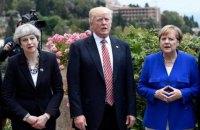 Лидеры США, Франции, Германии и Британии потребовали от России объяснений в связи с отравлением Скрипаля