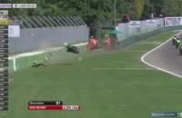 Украинский мотогонщик попал в аварию на соревнованиях в Италии