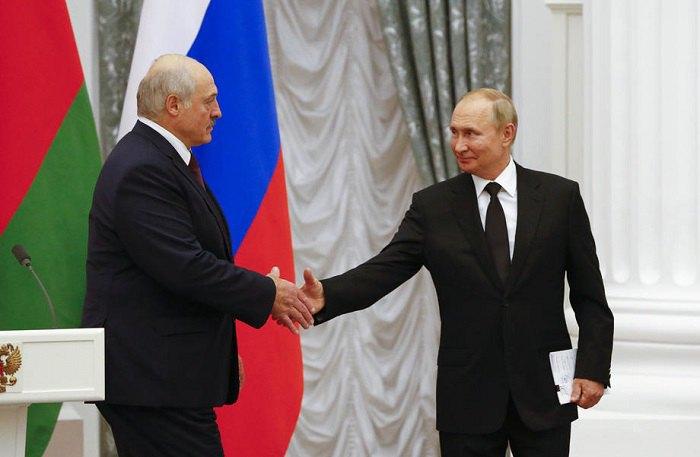 Зустріч Путіна та Лукашенка в Кремлі. 9 вересня 2021 року