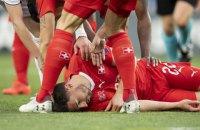 У матчі кваліфікації Євро-2020 гравець урятував футболіста збірної Швейцарії від смерті на полі