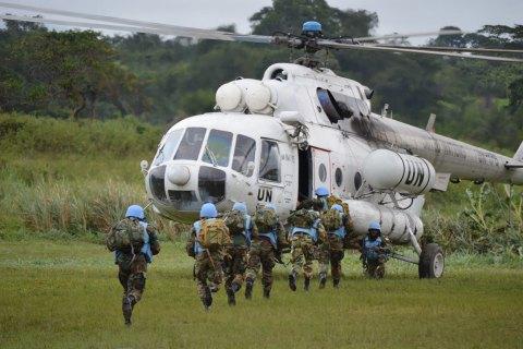 Порошенко подписал указ о направлении украинских военных для участия в миротворческой миссии ООН