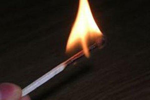 В одному із сіл Львівської області чоловік після сварки з дружиною спалив себе в городі