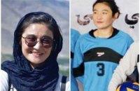 Родичі волейболістки молодіжної збірної Афганістану спростували факт її страти талібами