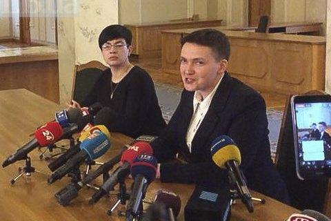 """Савченко оголосила планування теракту """"політичною провокацією"""" і """"створенням сюрреалізму"""""""