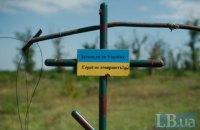 За добу бойовики 13 разів порушили перемир'я на Донбасі, загинув один військовослужбовець ЗСУ