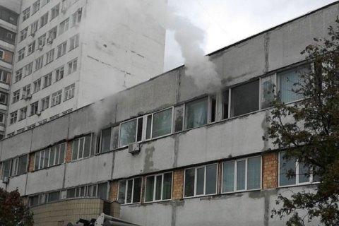 В киевской больнице скорой помощи произошел пожар