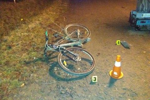 На Ивано-Франковщине пьяный водитель сбил насмерть 23-летнего велосипедиста