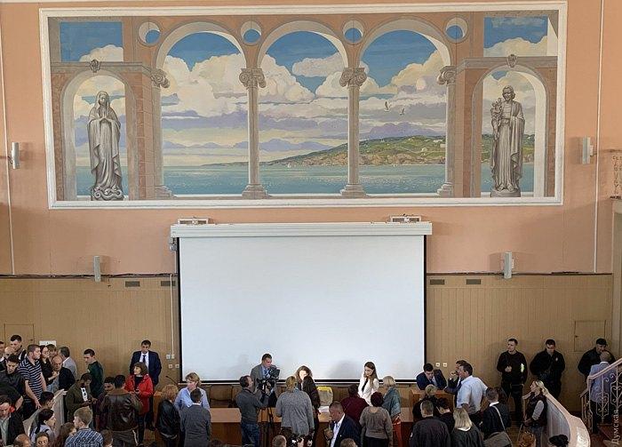 Зустріч викладачів Одеського університету та представників МОЗ в навчальному закладі