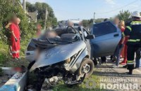 Троє поліцейських загинули у ДТП на Одещині
