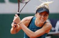 Свитолина проиграла первый матч теннисного сезона