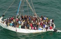 Береговая охрана Италии за сутки спасла 3,5 тысячи нелегалов