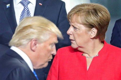Меркель и Трамп призвали Путина повлиять на Асада