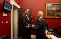 Кличко привітав Байдена з перемогою на виборах