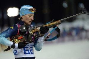 Украинские биатлонистки снова остались без медалей в Сочи