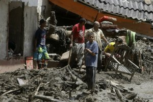 Жертвами оползня в Колумбии стали более 50 человек