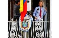 Ассанж може провести рік в посольстві Еквадору