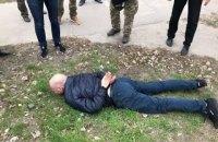 Один из руководителей отдела полиции в зоне АТО попался на взятке за паспорта