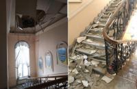 В управлінні поліції в Одеській області обвалилася стеля, постраждало двоє поліцейських