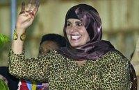 Дочь Каддафи обратилась в Международный уголовный суд