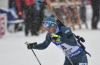 Вита Семеренко впервые с 2012 года поднялась на пьедестал Кубка мира в личной гонке