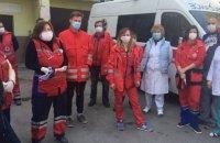 В Тернополе врачи экстренной помощи протестовали из-за отсутствия доплат к зарплате