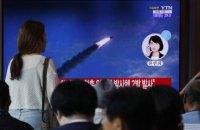 Північна Корея уп'яте за останні тижні провела випробування балістичних ракет