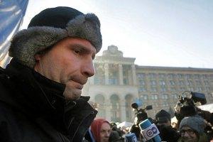 Кличко: команда президента погрожує депутатам в'язницею