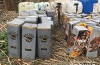 В Винницкой области полиция изъяла у пенсионерки более тонны поддельного элитного алкоголя