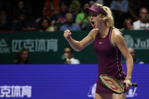 Свитолина вышла в финал Итогового турнира WTA (обновлено)