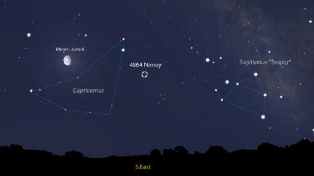 Астероид 4864 Nimoy