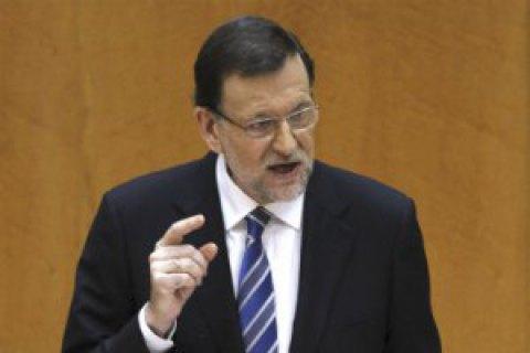 Прем'єр Іспанії пообіцяв відновити законність у Каталонії
