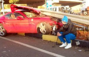 Милевский: Руни тоже разбил Ferrari - жизнь продолжается